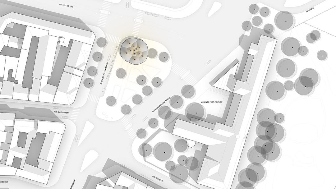 Pavillon Paris Plan