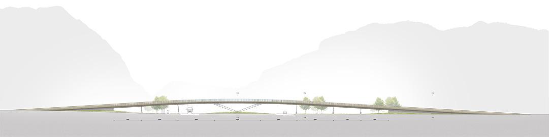 DFA/PMA Brücke Trautenfels Ansicht