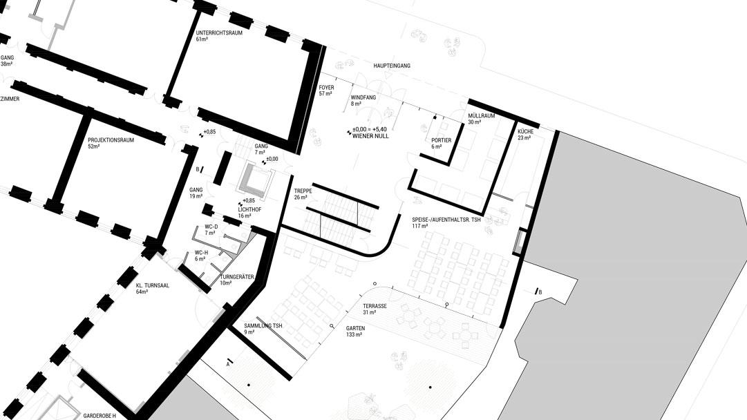PMA Gymnasium Sperlgasse
