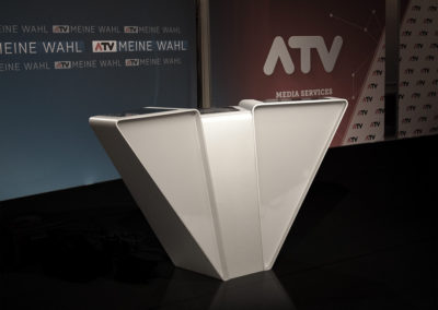 TV Tisch Bundespräsidentenwahl 2016