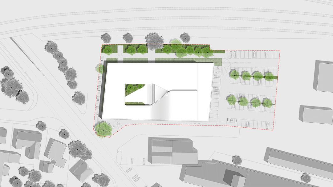 Veranstaltungszentrum St.Valentin Lageplan