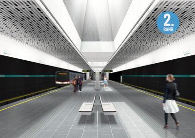 U5 Wien Liniendesign