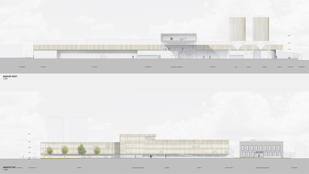 PMA Dienstleistungszentrum Gmunden Ansichten