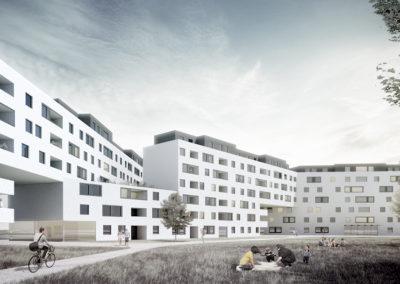 Wohnbau Derfflingerstraße